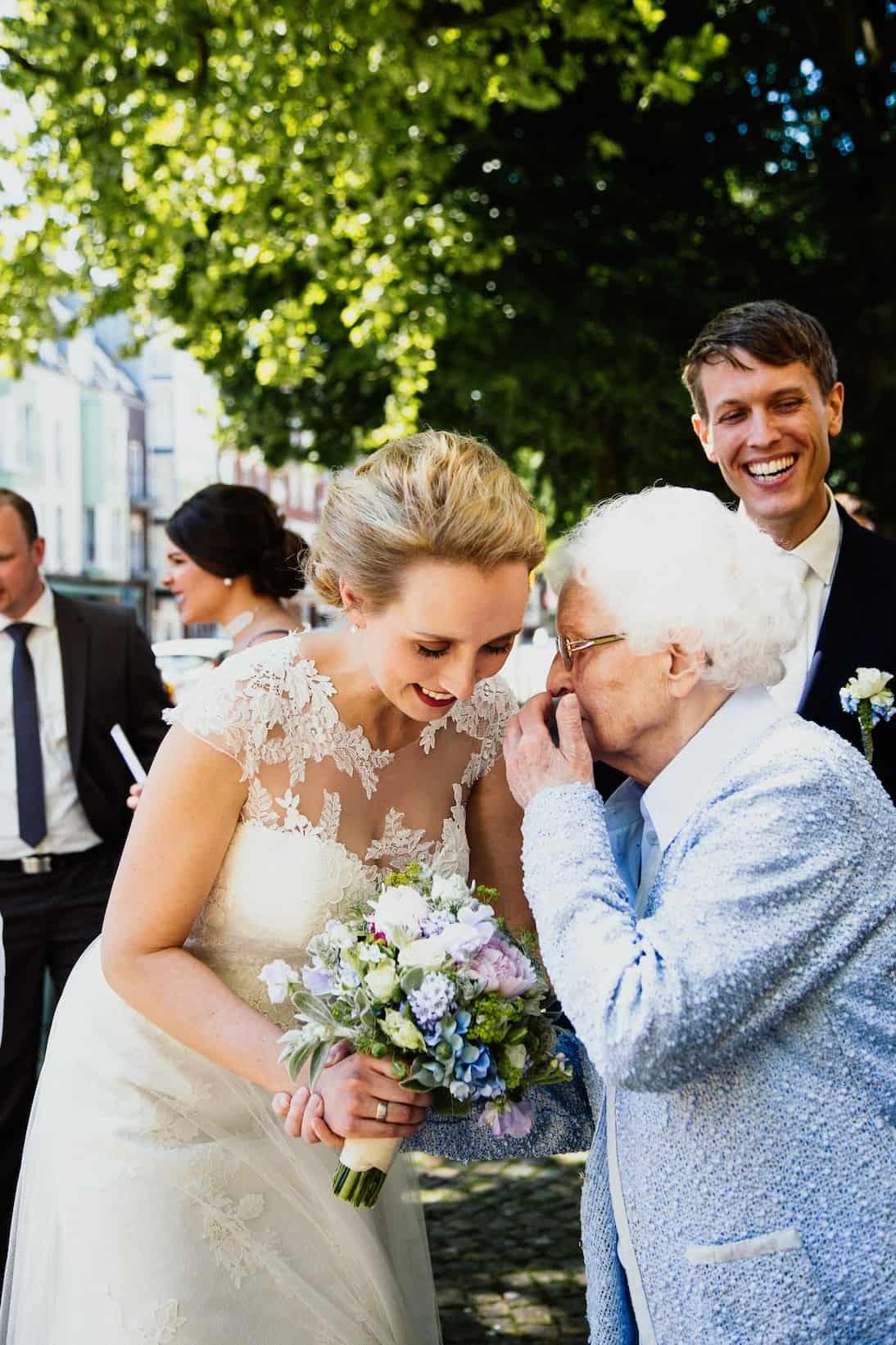 Hochzeit von Tine und Basti in Münster: Glückwünsche
