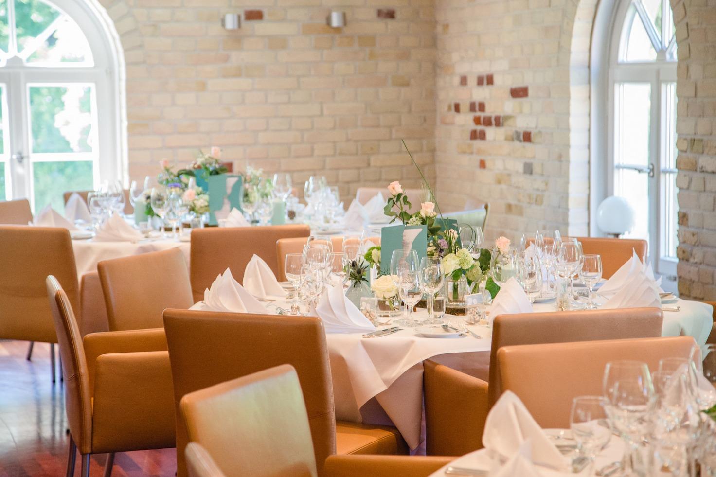 Hochzeit von Tine und Basti in Münster: Die Hochzeitslocation
