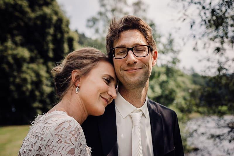 Hochzeitsfotograf Münster - glückliches Brautpaar