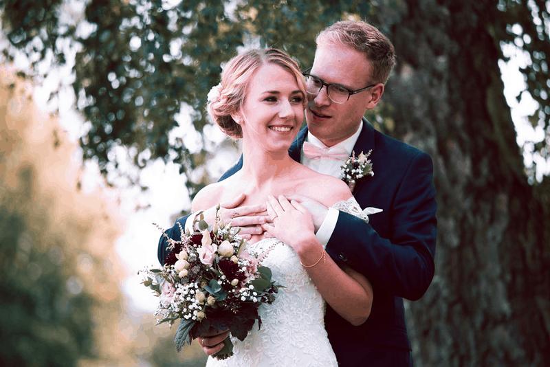 Hochzeitsfotograf Münster - Brautpaar Portrait