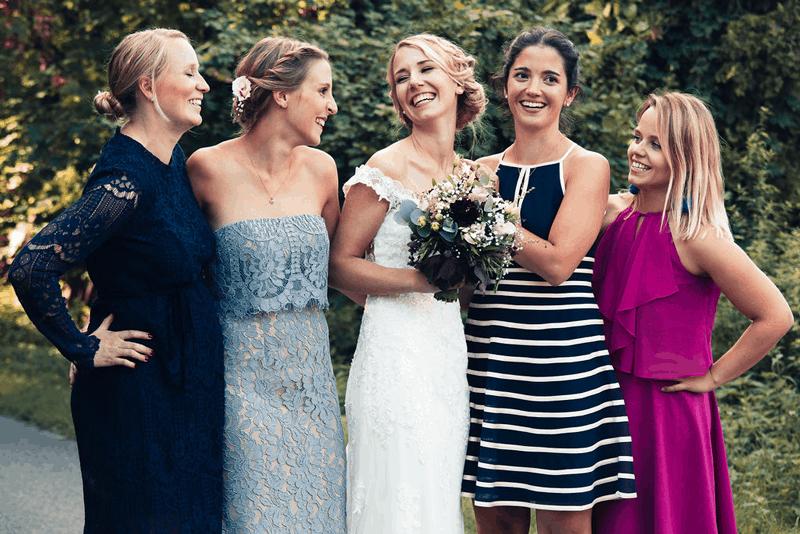 Hochzeitsfotograf Münster - Hochzeit Brautjungfern