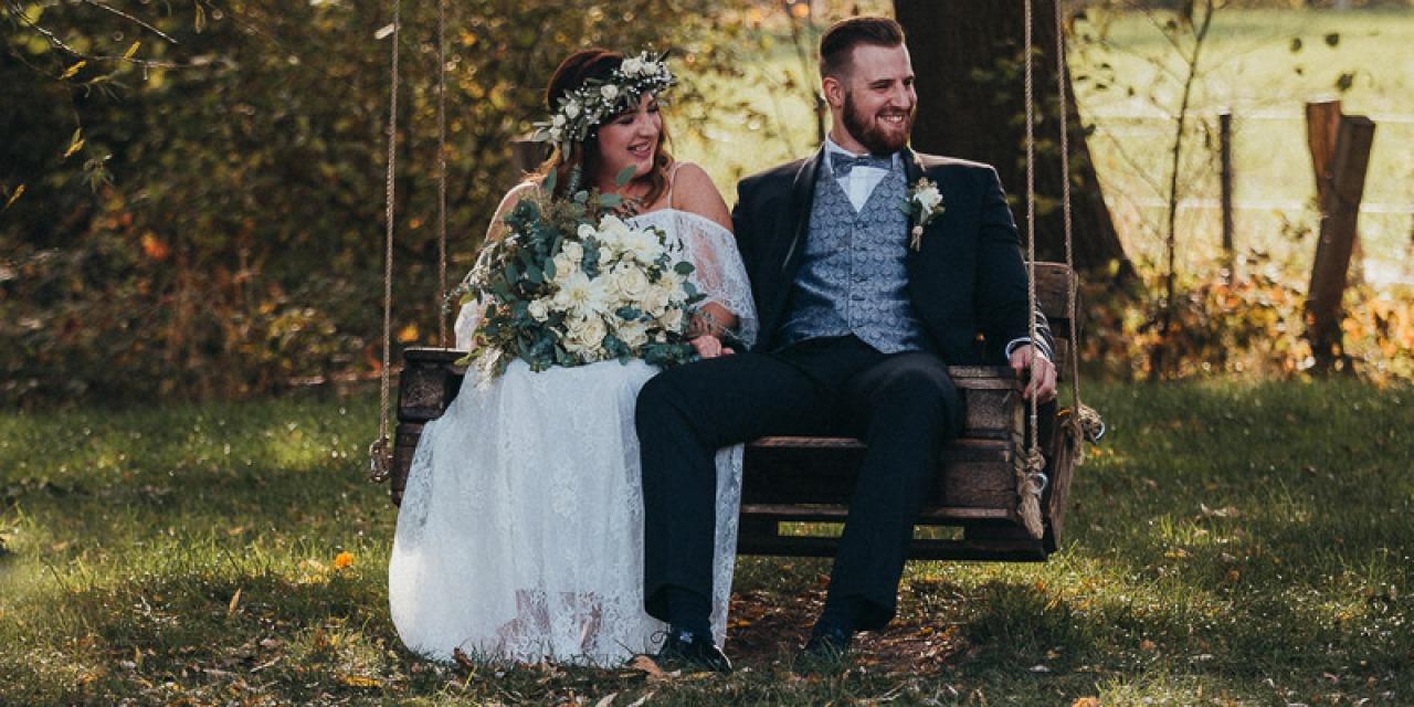 Hochzeitsfotograf Münster - Hochzeitsschaukel